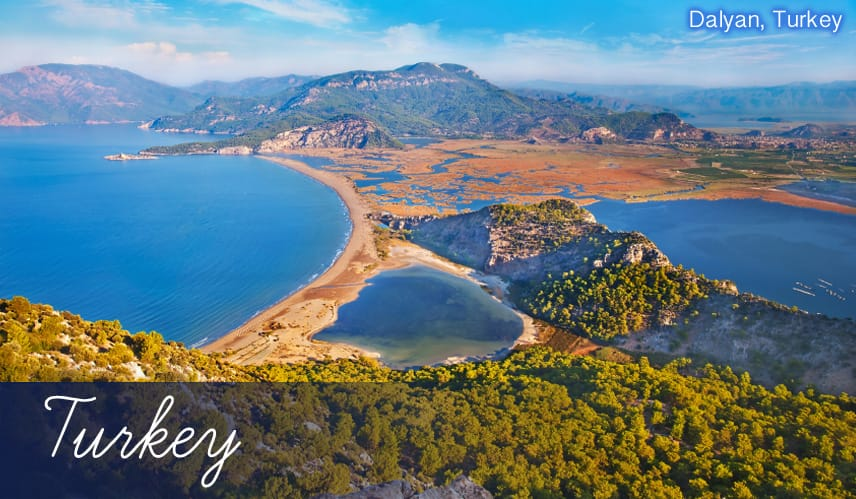All inclusive holidays to Dalyan