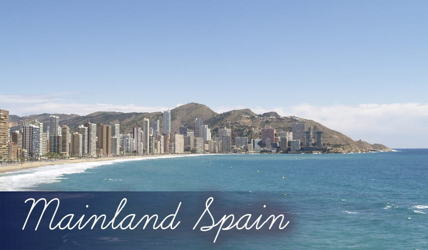 Mainland Spain all inclusive cheap holidays